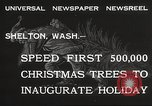 Image of shipping firs Shelton Washington USA, 1932, second 3 stock footage video 65675062517