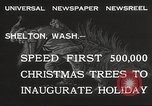 Image of shipping firs Shelton Washington USA, 1932, second 4 stock footage video 65675062517