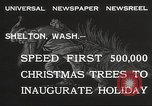 Image of shipping firs Shelton Washington USA, 1932, second 6 stock footage video 65675062517
