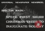 Image of shipping firs Shelton Washington USA, 1932, second 7 stock footage video 65675062517