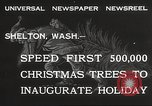 Image of shipping firs Shelton Washington USA, 1932, second 8 stock footage video 65675062517