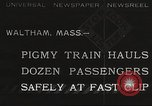 Image of small locomotive Waltham Massachusetts USA, 1932, second 1 stock footage video 65675062519