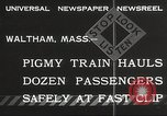 Image of small locomotive Waltham Massachusetts, 1932, second 3 stock footage video 65675062519