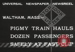 Image of small locomotive Waltham Massachusetts USA, 1932, second 4 stock footage video 65675062519