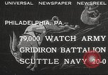 Image of Army beating Navy Philadelphia Pennsylvania USA, 1932, second 1 stock footage video 65675062522