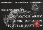 Image of Army beating Navy Philadelphia Pennsylvania USA, 1932, second 2 stock footage video 65675062522