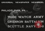 Image of Army beating Navy Philadelphia Pennsylvania USA, 1932, second 3 stock footage video 65675062522