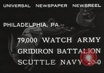 Image of Army beating Navy Philadelphia Pennsylvania USA, 1932, second 4 stock footage video 65675062522