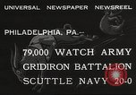 Image of Army beating Navy Philadelphia Pennsylvania USA, 1932, second 5 stock footage video 65675062522