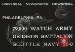 Image of Army beating Navy Philadelphia Pennsylvania USA, 1932, second 6 stock footage video 65675062522