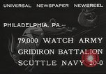 Image of Army beating Navy Philadelphia Pennsylvania USA, 1932, second 7 stock footage video 65675062522