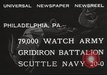 Image of Army beating Navy Philadelphia Pennsylvania USA, 1932, second 8 stock footage video 65675062522