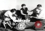 Image of massive leopard fur skin rug from Korea Pueblo Colorado USA, 1951, second 2 stock footage video 65675062527