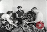Image of massive leopard fur skin rug from Korea Pueblo Colorado USA, 1951, second 5 stock footage video 65675062527