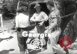 Image of gold seekers Dahlonega Georgia USA, 1951, second 1 stock footage video 65675062528