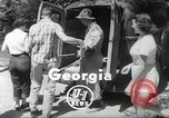 Image of gold seekers Dahlonega Georgia, 1951, second 3 stock footage video 65675062528