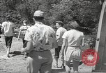 Image of gold seekers Dahlonega Georgia USA, 1951, second 8 stock footage video 65675062528