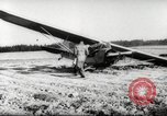 Image of crash landing of airplane Germany, 1953, second 5 stock footage video 65675062539