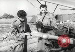Image of crash landing of airplane Germany, 1953, second 8 stock footage video 65675062539
