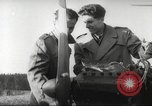 Image of crash landing of airplane Germany, 1953, second 12 stock footage video 65675062539