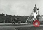 Image of A-4 missile Peenemunde Germany, 1943, second 8 stock footage video 65675062550