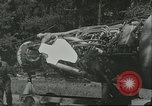 Image of German rocket technicians work on V-2 missile Blizna Poland, 1944, second 1 stock footage video 65675062552