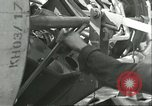 Image of German rocket technicians work on V-2 missile Blizna Poland, 1944, second 2 stock footage video 65675062552