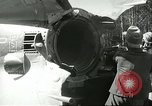 Image of German technicians work on V-2 missile propulsion unit Blizna Poland, 1944, second 4 stock footage video 65675062554