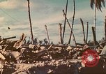 Image of United States soldiers Tarawa Gilbert Islands, 1944, second 4 stock footage video 65675062567