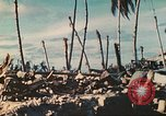 Image of United States soldiers Tarawa Gilbert Islands, 1944, second 8 stock footage video 65675062567