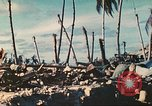 Image of United States soldiers Tarawa Gilbert Islands, 1944, second 9 stock footage video 65675062567