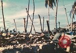 Image of United States soldiers Tarawa Gilbert Islands, 1944, second 10 stock footage video 65675062567