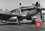 Image of Ground crewmwn servicing P-51s of the 332nd Fighter Group Termoli Italy, 1944, second 3 stock footage video 65675062602