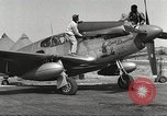 Image of Ground crewmwn servicing P-51s of the 332nd Fighter Group Termoli Italy, 1944, second 4 stock footage video 65675062602