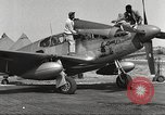 Image of Ground crewmwn servicing P-51s of the 332nd Fighter Group Termoli Italy, 1944, second 5 stock footage video 65675062602