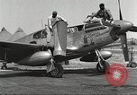 Image of Ground crewmwn servicing P-51s of the 332nd Fighter Group Termoli Italy, 1944, second 7 stock footage video 65675062602
