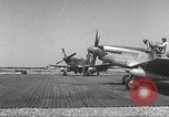 Image of 100th Squadron, U.S. Army Air Forces 332nd Fighter Group Termoli Italy, 1944, second 9 stock footage video 65675062614