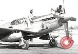 Image of Ground Crewmen of 332nd Fighter Group maintain P-51s Termoli Italy, 1944, second 1 stock footage video 65675062615