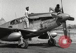 Image of Ground Crewmen of 332nd Fighter Group maintain P-51s Termoli Italy, 1944, second 3 stock footage video 65675062615