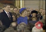 Image of President Ronald Reagan Washington DC USA, 1985, second 5 stock footage video 65675062617