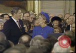 Image of President Ronald Reagan Washington DC USA, 1985, second 7 stock footage video 65675062617