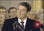 Image of President Ronald Reagan Washington DC USA, 1985, second 1 stock footage video 65675062619
