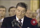 Image of President Ronald Reagan Washington DC USA, 1985, second 2 stock footage video 65675062619
