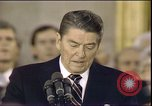 Image of President Ronald Reagan Washington DC USA, 1985, second 3 stock footage video 65675062619
