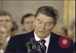 Image of President Ronald Reagan Washington DC USA, 1985, second 4 stock footage video 65675062620