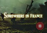Image of United States soldiers France, 1943, second 5 stock footage video 65675062625