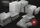 Image of FBI fingerprint library Washington DC USA, 1936, second 6 stock footage video 65675062630