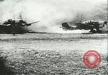 Image of German airplanes Southern Yugoslavia, 1941, second 9 stock footage video 65675062660
