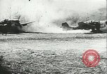 Image of German airplanes Southern Yugoslavia, 1941, second 10 stock footage video 65675062660