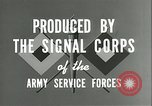 Image of The American Army Service forces European Theater, 1943, second 12 stock footage video 65675062661